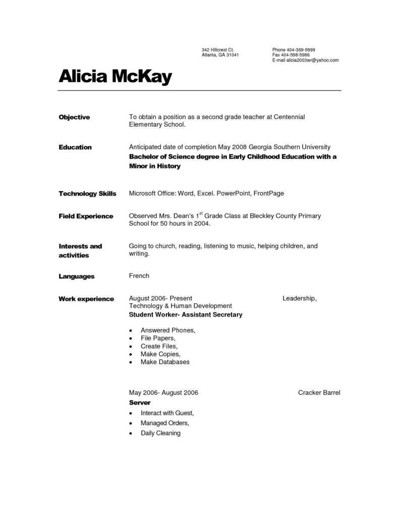 Day Care Philosophy Statement Examples and Child Care Provider Resume Template Design