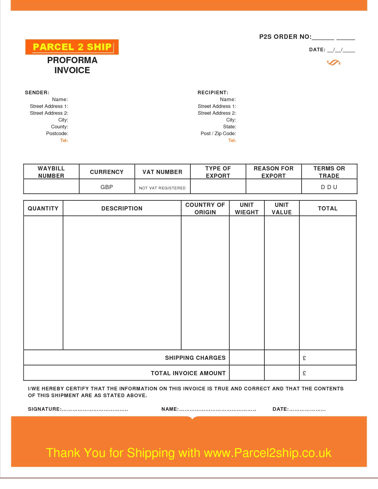 Demand forecasting Excel Template and 8 Proforma Invoice Templates In Word and Excel Firmsinjafo