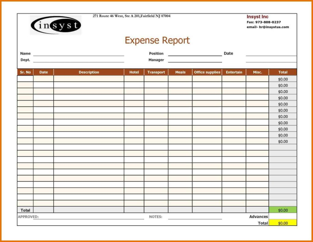 Disaster Recovery Report Template and Expense Report Spreadsheet Template Sample Dingliyeya