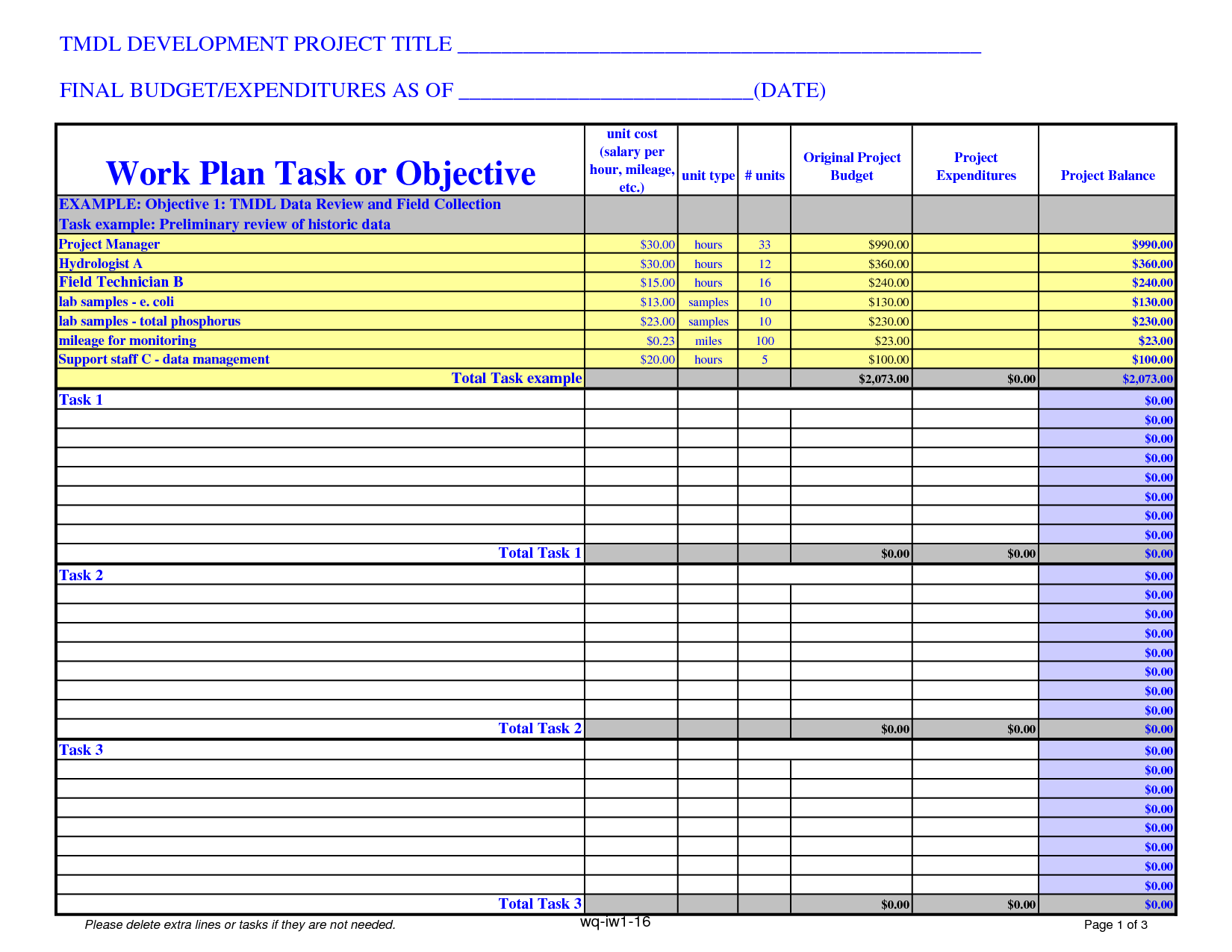 Downloadable Budget Worksheets and Project Bud Template Cyberuse