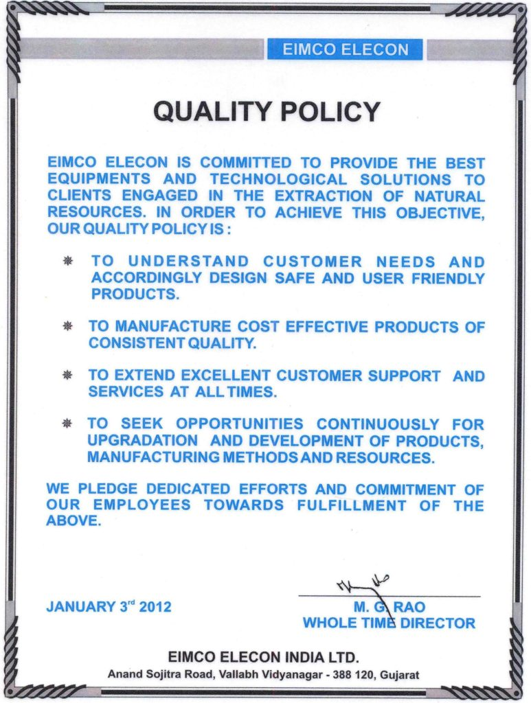Ehs Policy Statement Example and iso 9001 Quality Policy Statement Example the Best Free