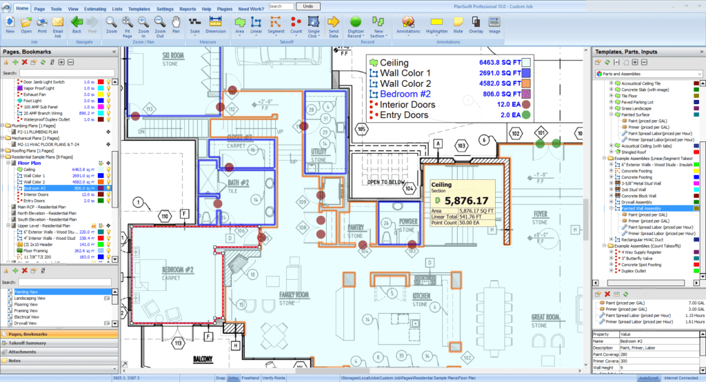 Electrical Engineering Excel Spreadsheets and Takeoff software for Construction Estimating Planswift