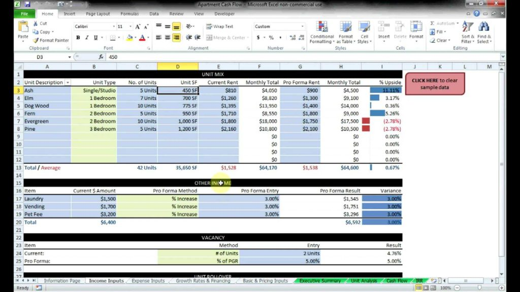 Estate Planning Spreadsheet and Real Estate Investment Spreadsheet Spreadsheets