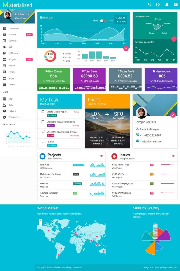 Excel Sales Dashboard Templates Free and 40 Best Material Design Dashboard Template 2017 Responsive Miracle