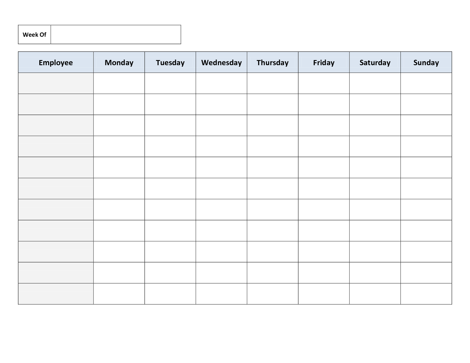 Excel Spreadsheet for Scheduling Employee Shifts and Employees Schedule Template Excel and Excel Employee Schedule