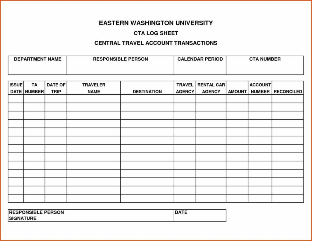 Expense Account Template and Cehaer Activity Trip Sheet Template Expense Report Data