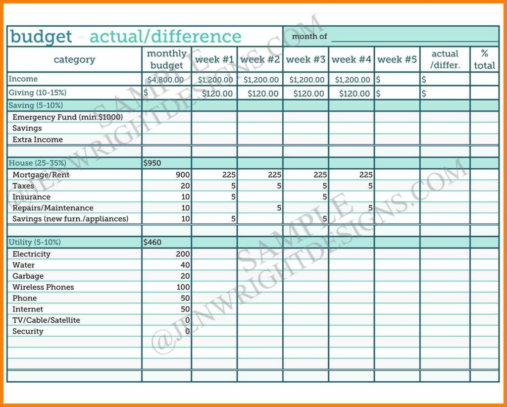Expenses Sheet Template and Bud Templates Free Vosvetenet Best Photos Of Expense Ledger