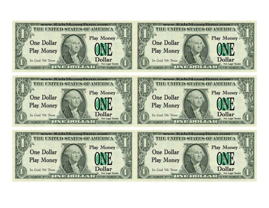Fake Million Dollar Bill Template and 11 Best Images Of Printable Prop Money Template Printable Fake