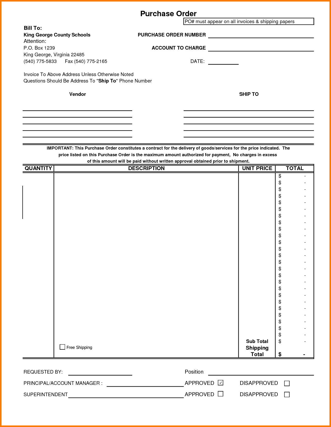 Free Hvac Invoice Template and Printable Blank Invoice Template Template Ptasso