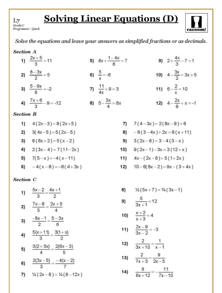 Free Ks3 Maths Worksheets and Free Ks3 Maths Worksheets with Answers and Free Ks3 Maths