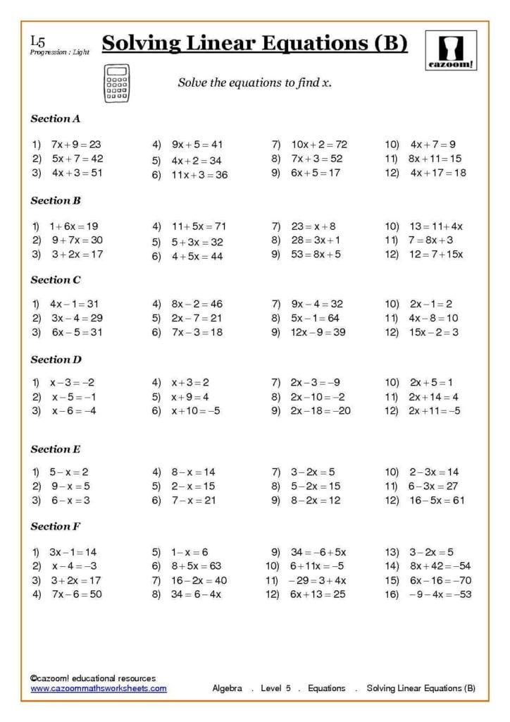 Free Ks3 Maths Worksheets and Printables Substitution Worksheet Eatfindr Worksheets Printables