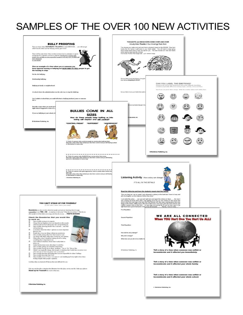 Free Life Skills Worksheets and Free Life Skills Lesson Plans Special Education Ronemporium