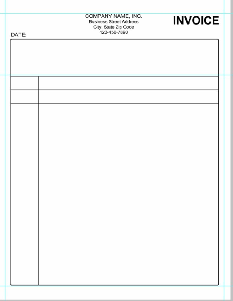 Free Sample Invoice Templates and Simple Invoice Template Microsoft Word Invoice Template Ideas