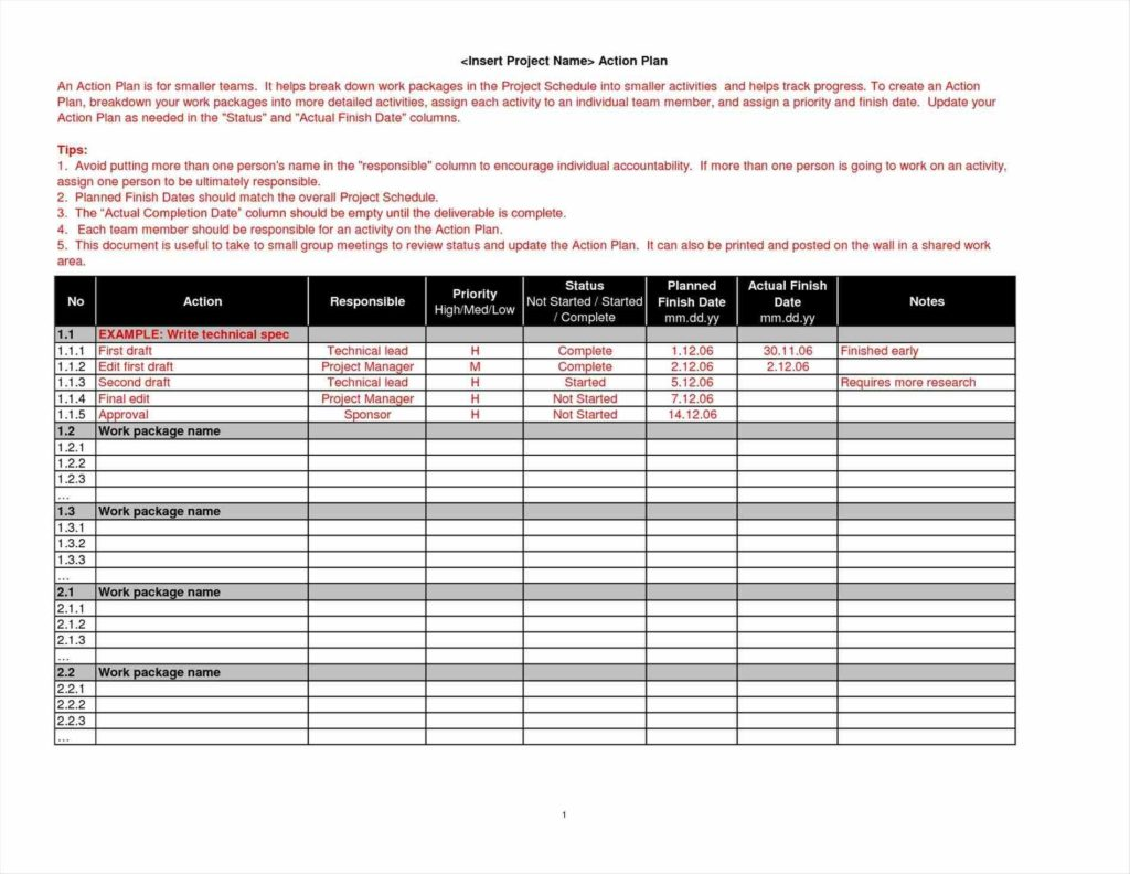 Free social Media Report Template and Usaid Project Project Plan Template Free Performance