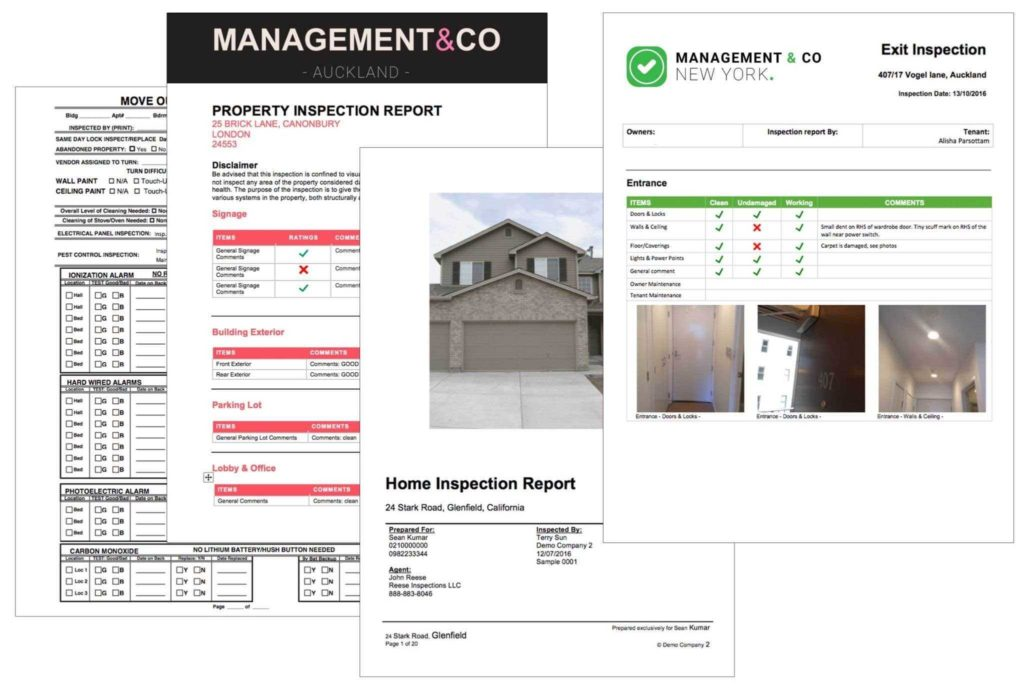 Home Inspection Report Template and Mercial Property Inspection Report Template Dingliyeya