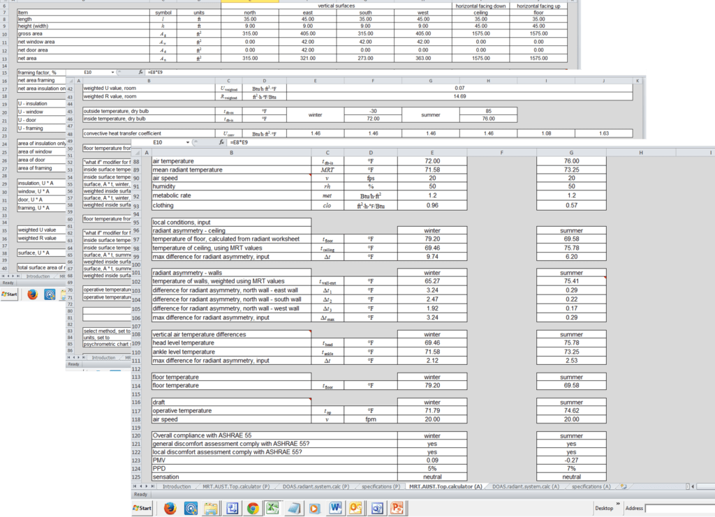 Hvac Load Calculation Spreadsheet and Integrated Hvac Design Capstone Project