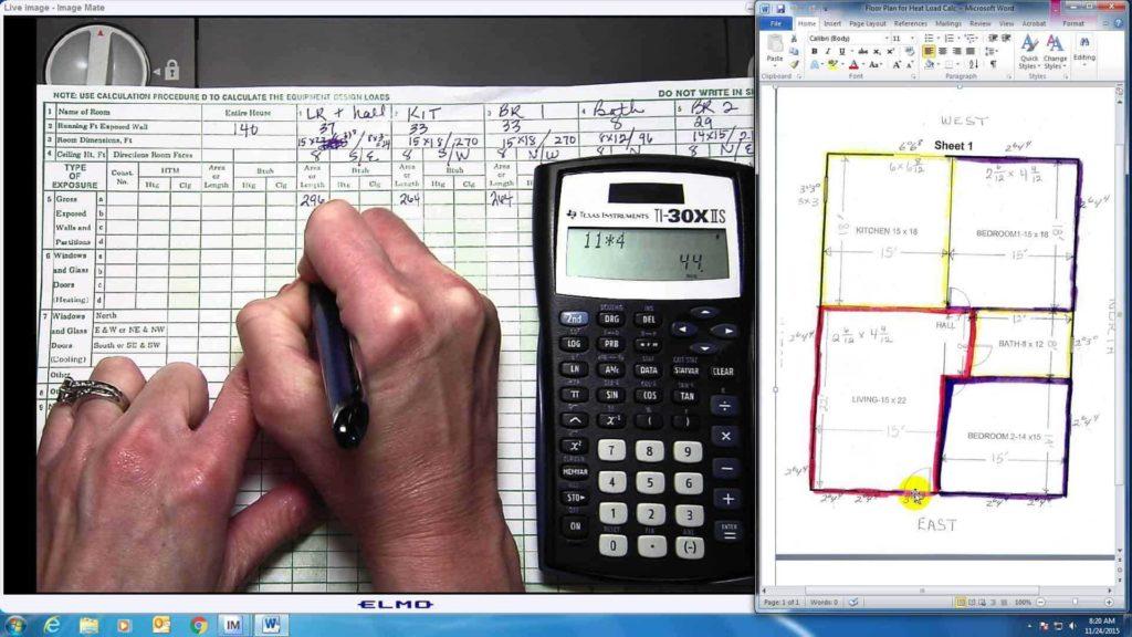Hvac Residential Load Calculation Worksheet and Residential Hvac Load Calculation Worksheet Dingliyeya