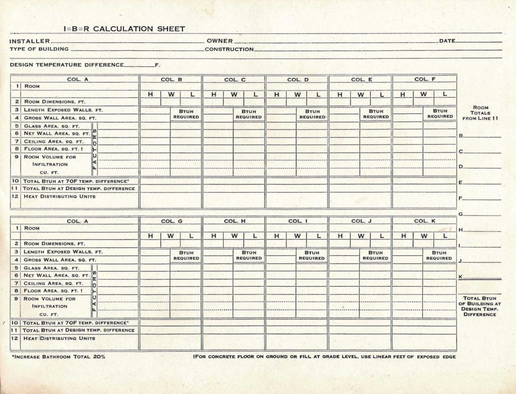 Hvac Residential Load Calculation Worksheet and when Do I Need to Perform A Load Calculation