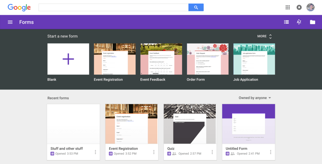 Interactive Spreadsheet Web Page and Google forms Guide Everything You Need to Make Great forms for