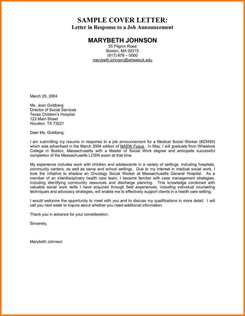 Interest Invoice Template and 3 Sample Job Letter Cna Resumed