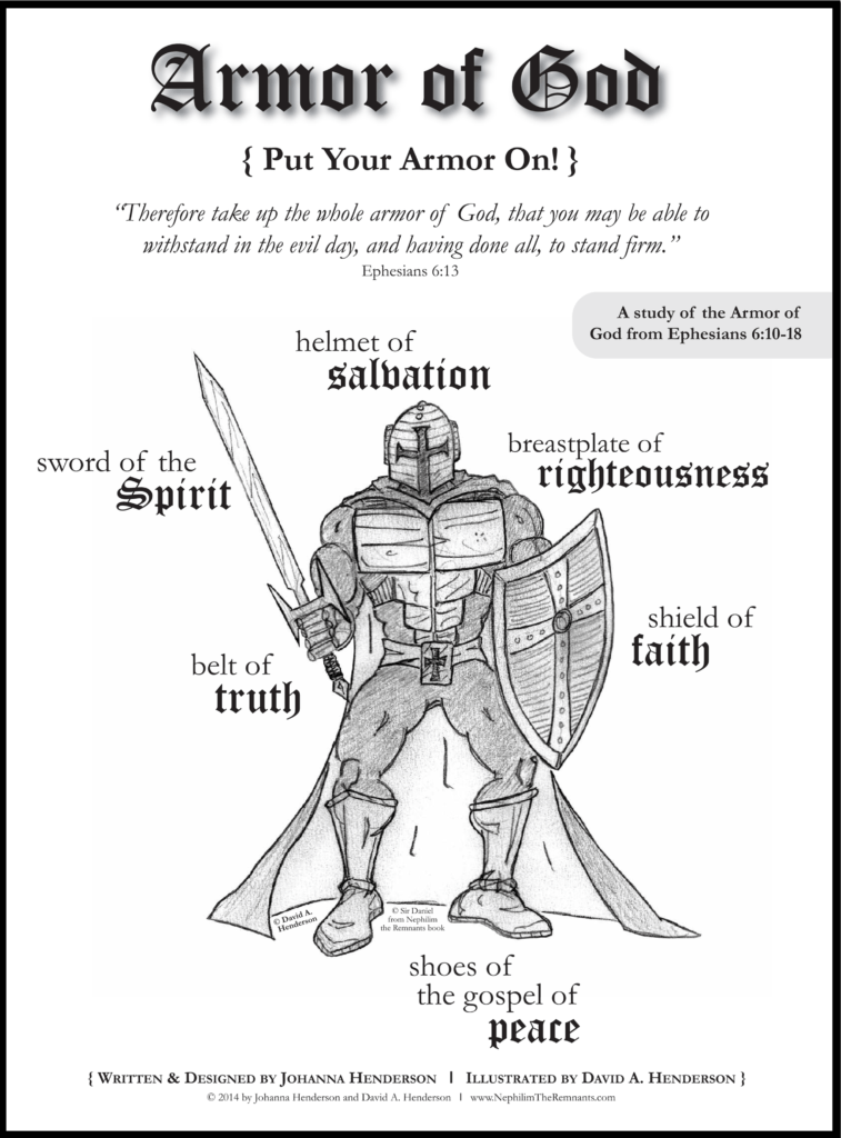 Kids Bible Study Worksheets and the Armor Of God Bible Study is Geared for 3rd Grade and Up the