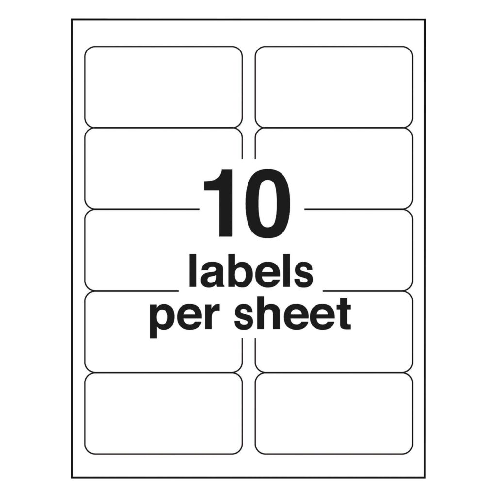 Label Printing Template 21 Per Sheet and Avery L7160 Label Template Virtren