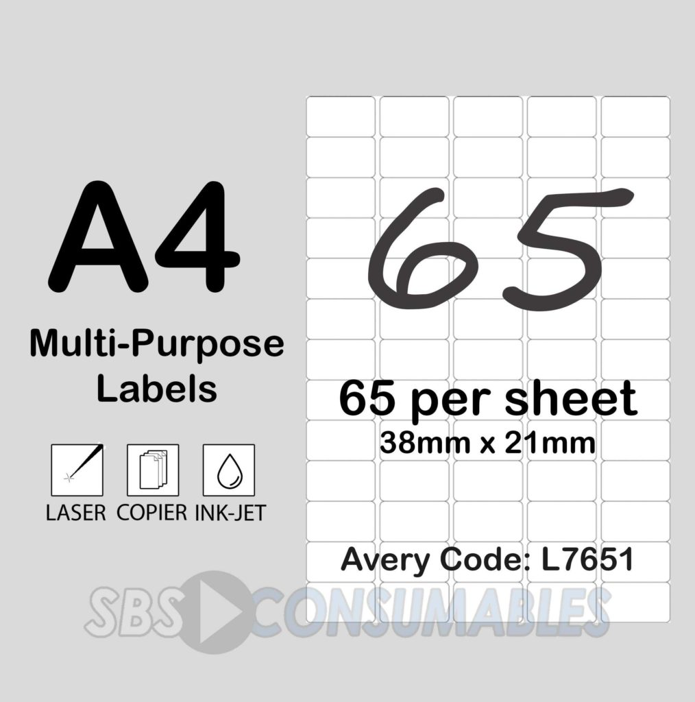 Label Printing Template 21 Per Sheet and Printable White Sticky Address Labels Office Supplies Uk within