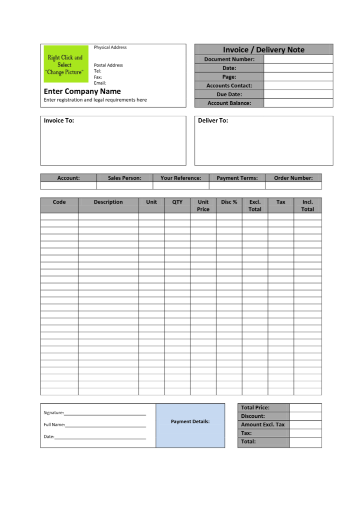 Lawn Care Invoice Template Word and Simple Invoice Template Excel Youtube Robinhobbsfo