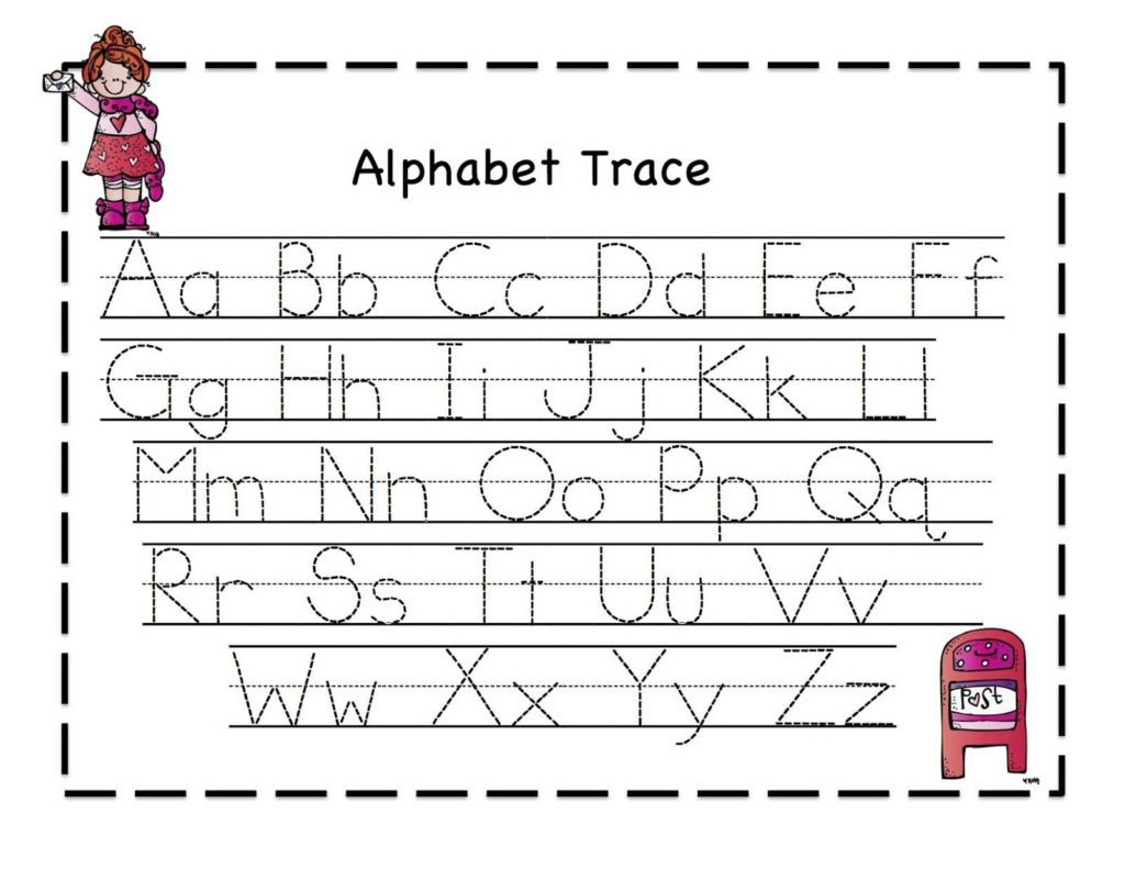 Learn to Write Kindergarten Worksheets and Abc Tracing Sheets for Preschool Kids Kiddo Shelter Alphabet