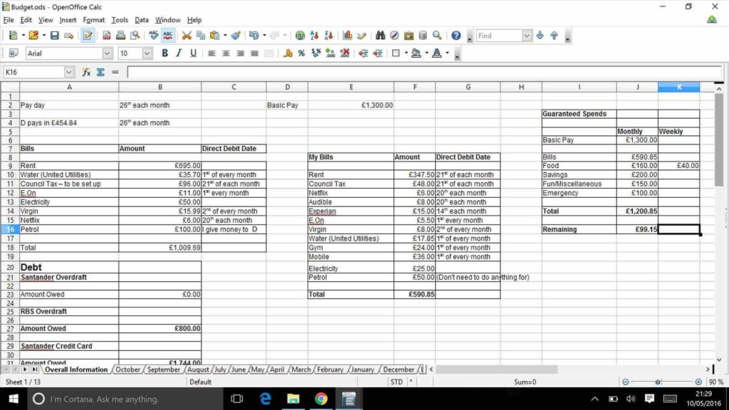 List Of Bills to Pay Template and Monthly Bud Spreadsheet Example Expenses Spreadsheet Template