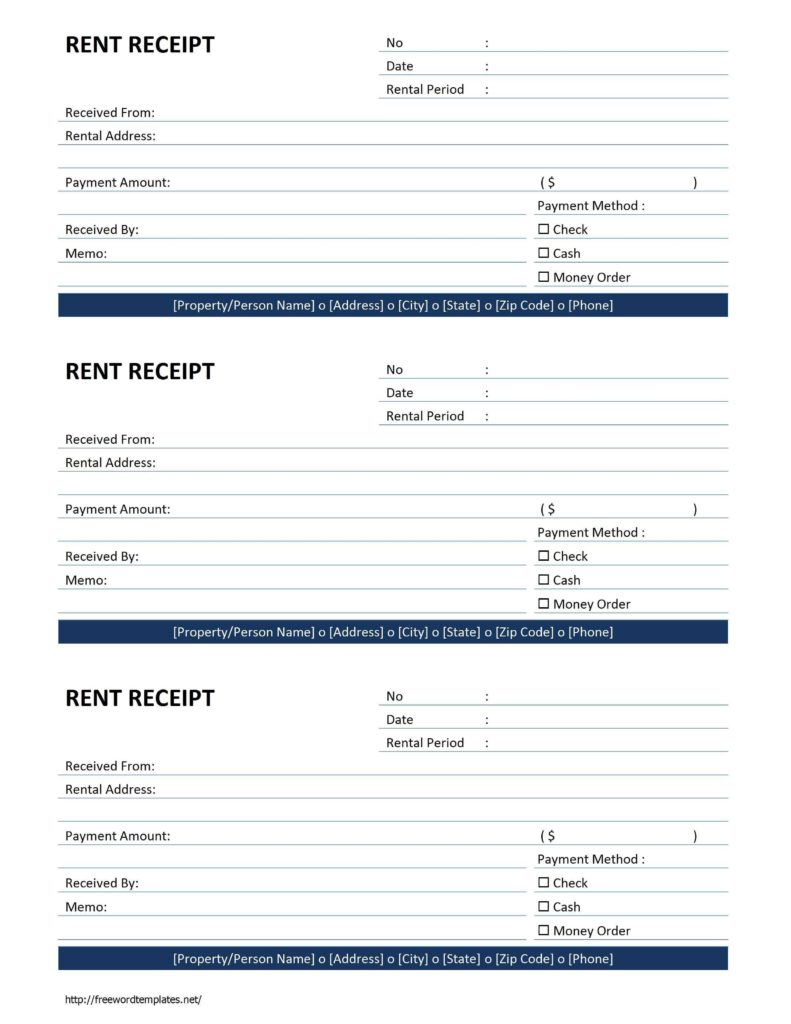 Manual Invoice Template and Rent Receipt Template Free Microsoft Word Templates Free Rent