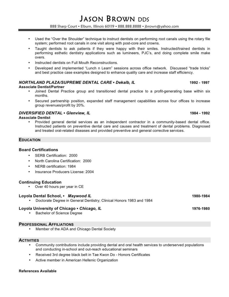 Medical Billing Resume Sample Free and Resume Medical Resume Example