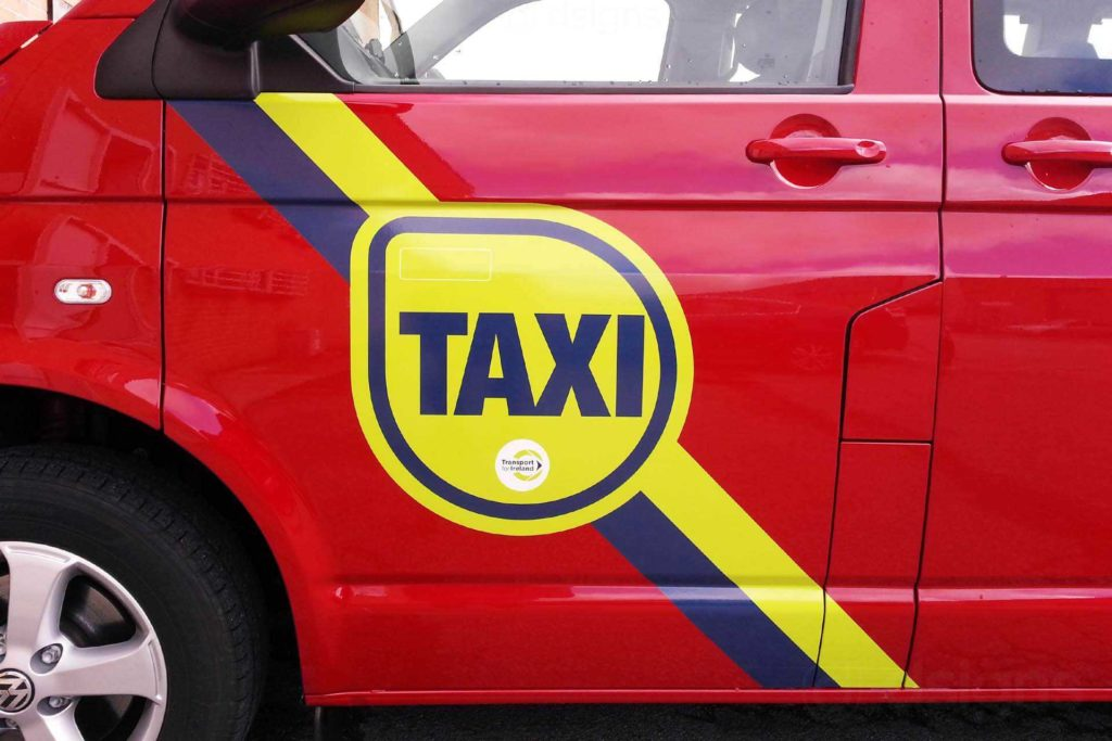 Meru Cabs Bill Template and Taxi Door Branding
