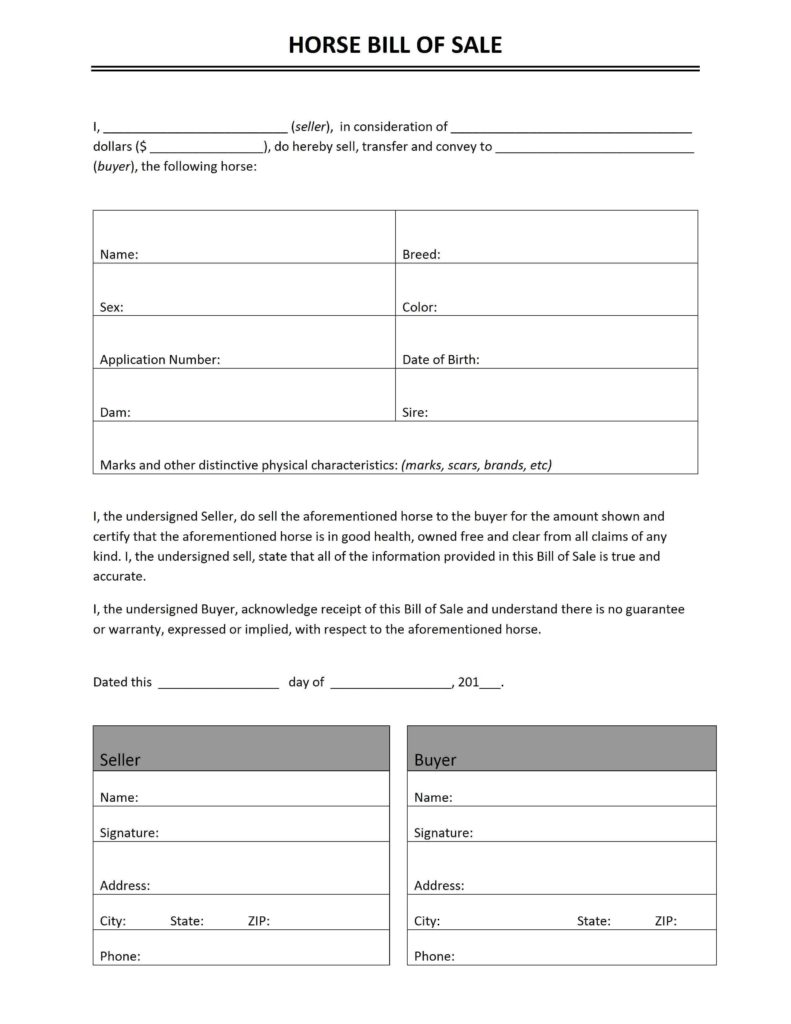 Microsoft Bill Of Sale Template and Bill Of Sale Freewordtemplates