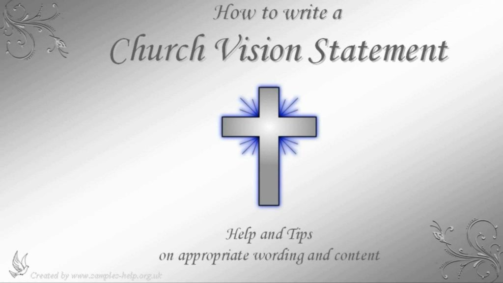 Missionary Mission Statement Examples and Church Vision Statements