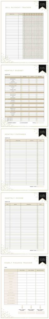 Monthly Bill Template Free and Monthly How Expenditure Sheet Template to Live On A Bud An