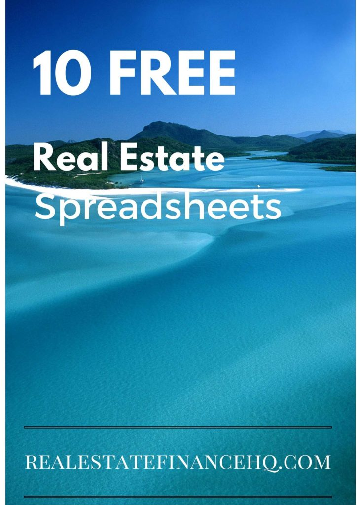 Office Spreadsheet Free and 10 Free Real Estate Spreadsheets Real Estate Finance