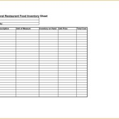 Kitchen Inventory Knife Office Supplies Spreadsheet And Free Excel Templates With Regard To Restaurant