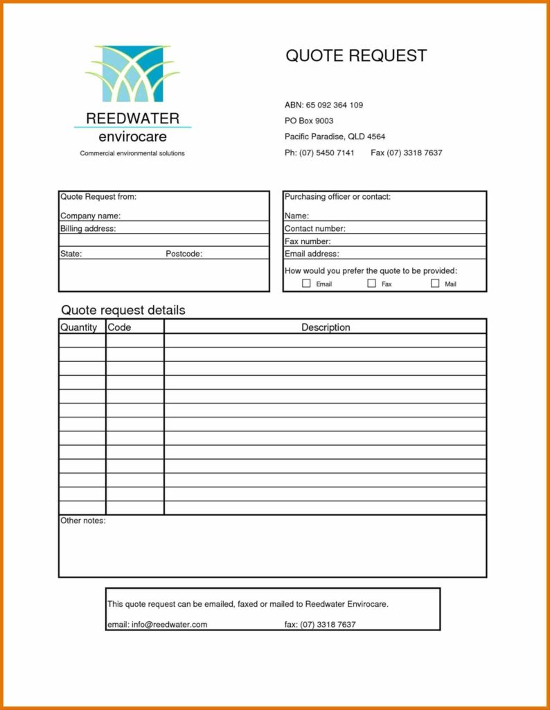 Painter Estimate Template and Quote Sheet Template Sheets Itinerary Template Sample Templates