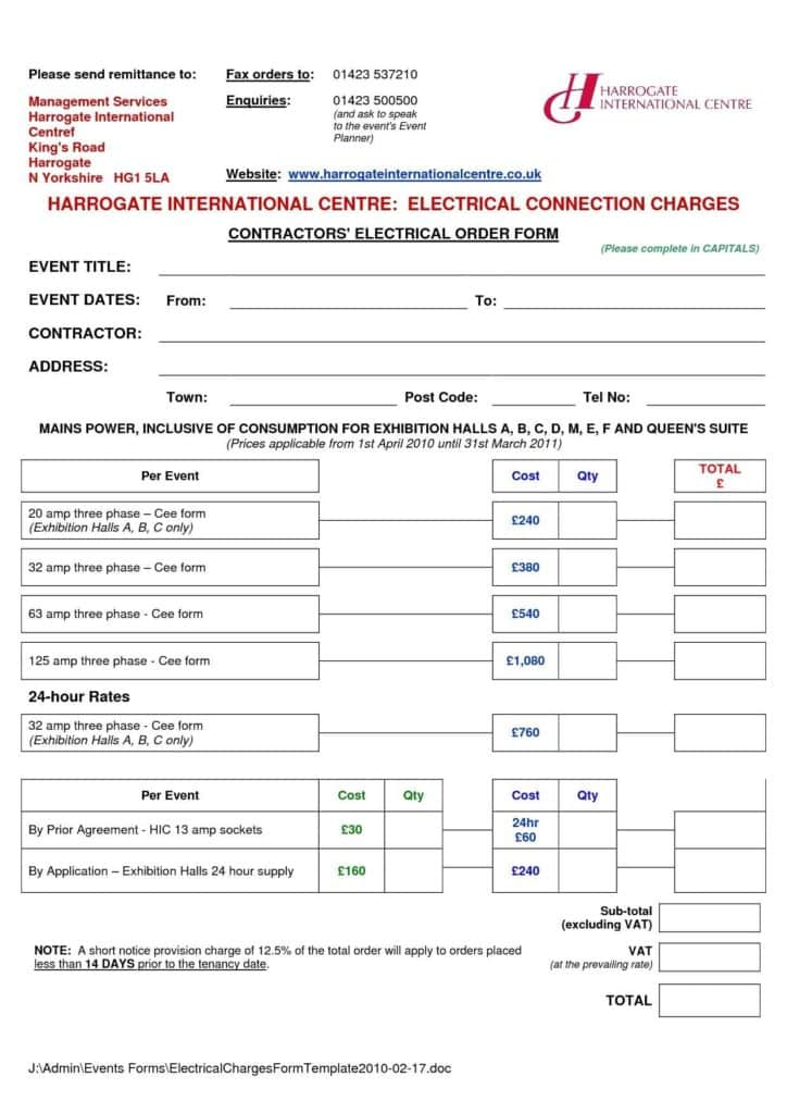 Plain Invoice Template and 13 Free Electrical Invoice Templates Demplates