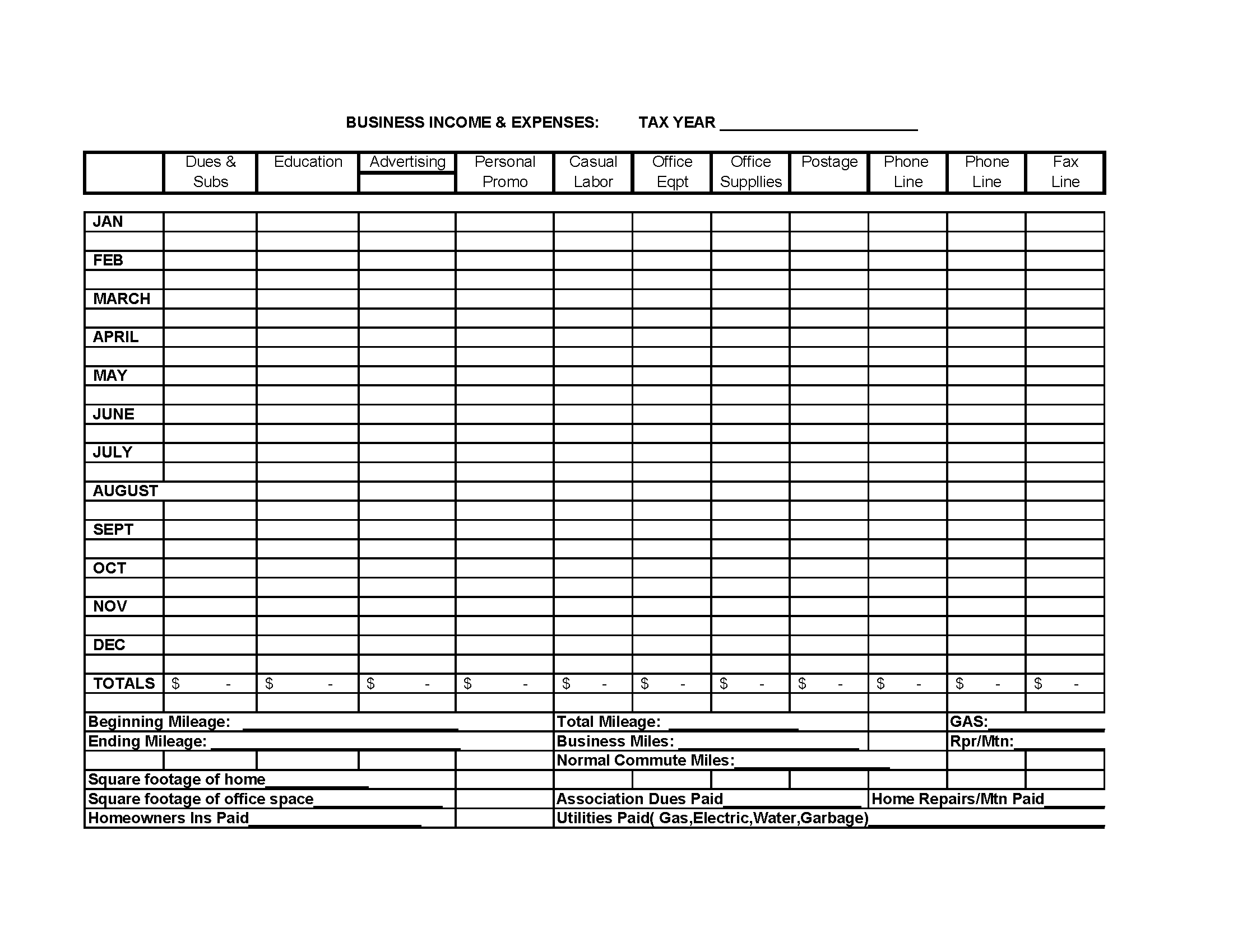 Profit and Loss Statement for Self Employed Template and Profit and Expense Spreadsheet Laobingkaisuo
