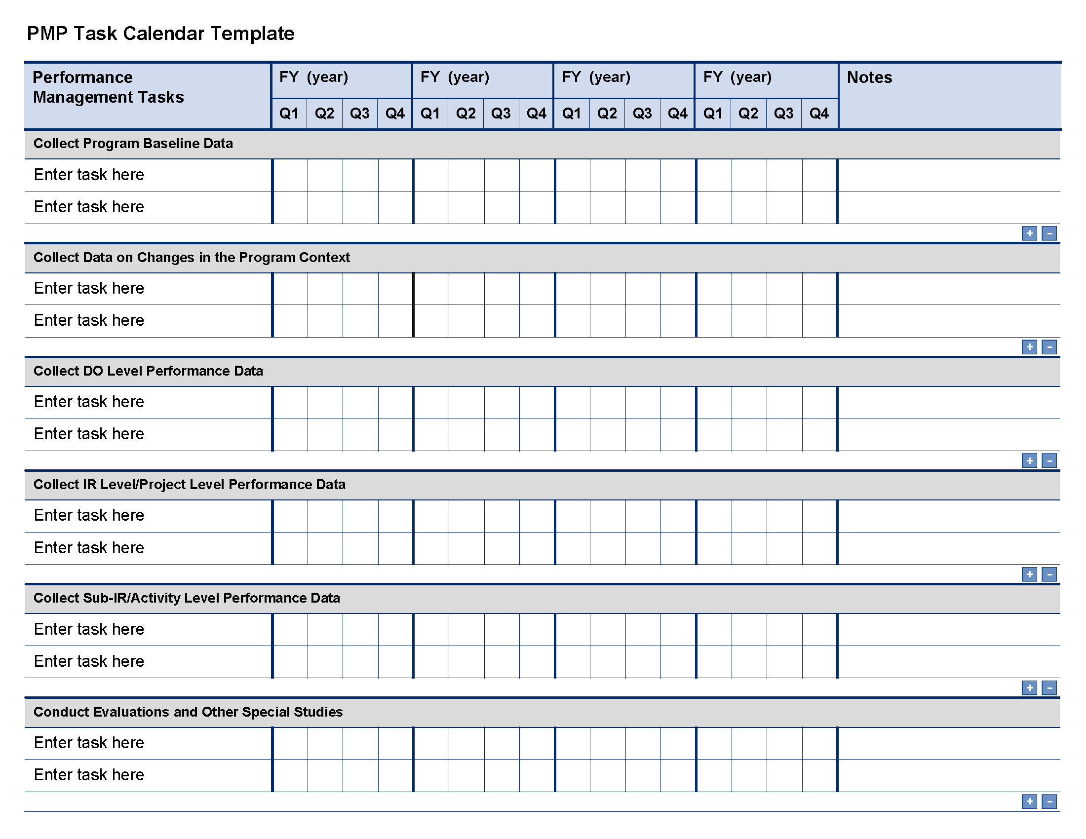 Project Manager Spreadsheet Templates and Pmp Task Calendar Template Project Starter Usaid