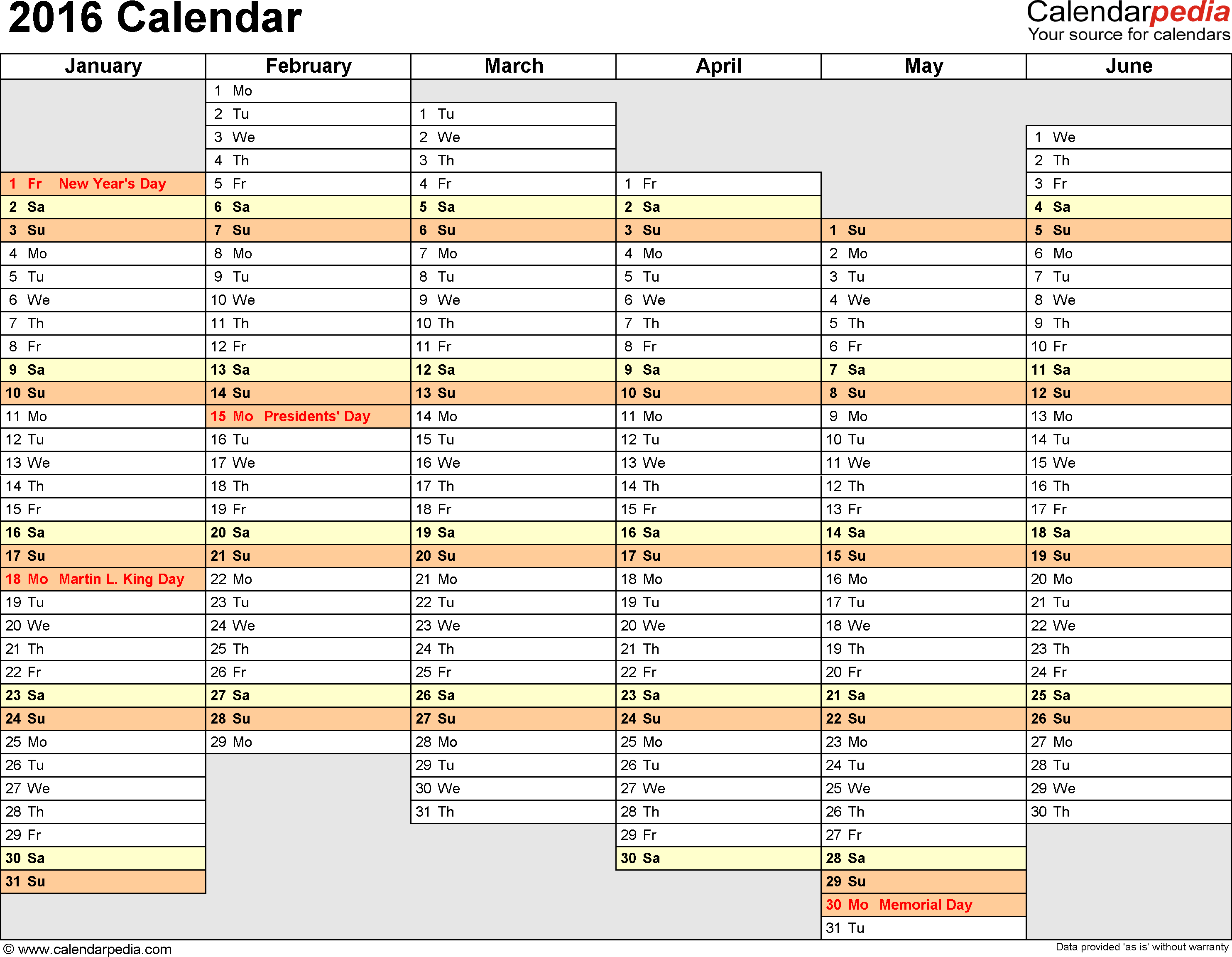 Project Timeline Spreadsheet and 2016 Calendar 16 Free Printable Excel Templates Xls