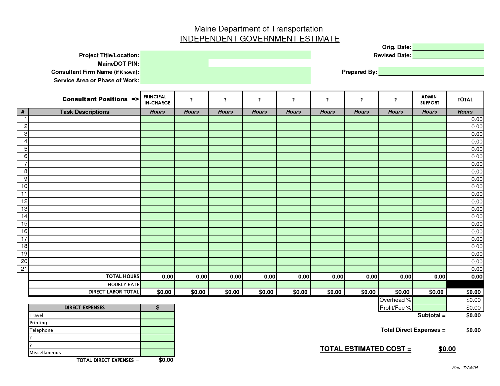 Project Tracker Template In Excel and 9 Best Contractor forms Images On Pinterest Free Prints