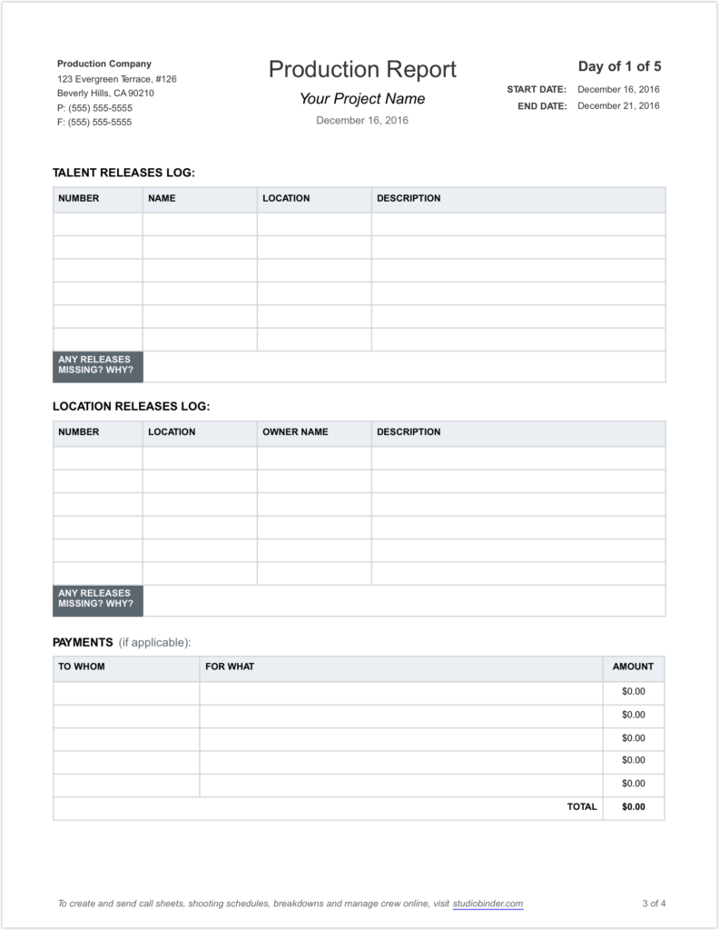 Residential Construction Schedule Template Excel and Free Daily Production Report Template