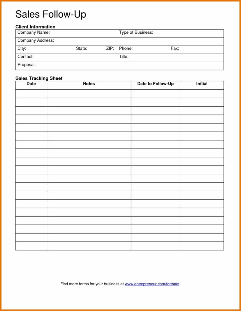 Sales Lead Sheet Template and Lead Sheet Template Personal Information forms Client Data Sheet