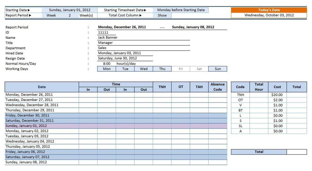 Sales Tracker Spreadsheet and 12 Employee Tracking Templates Excel Pdf formats with Contract