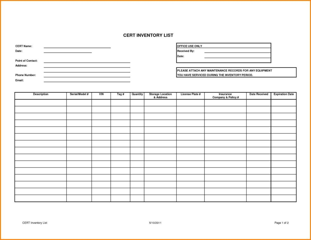 Sample Excel Inventory Spreadsheets and Doc Sample Inventory Template Inventory Spreadsheet