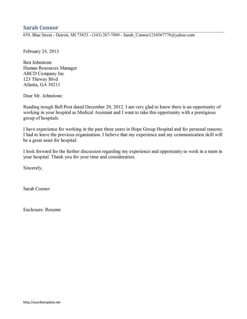 Audit Report Cover Letter Sample - Inspirational Interior ...