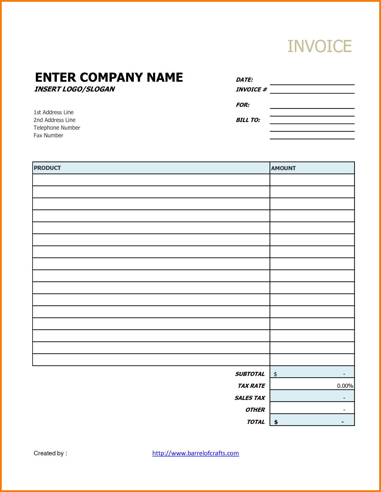 Sample Invoice for Accounting Services and Printable Invoice Template Your sourche for Printable Invoice